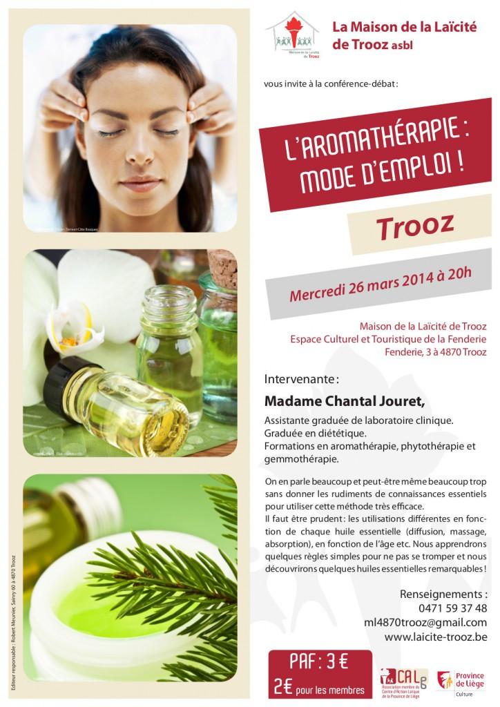Affiche Aromathérapie Chantal Jouret