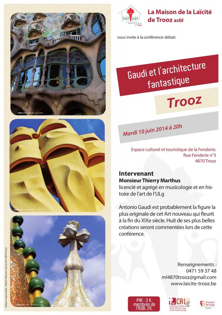 Affiche Gaudi