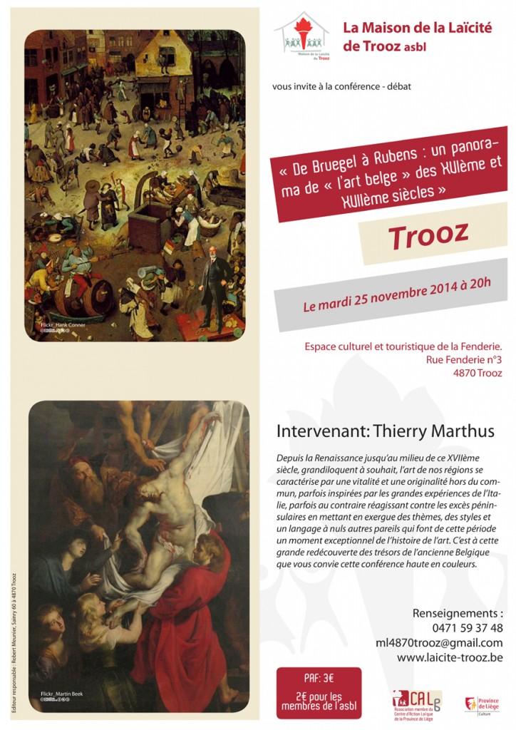 Conférence Brueghel 25.11.14