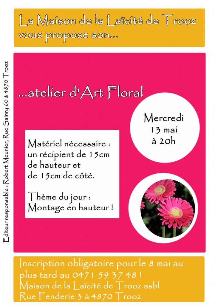 atelier art floral 13 mai 2015